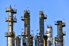 Oil and gas industry,petrochemical plant stock images