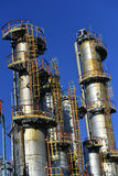 Oil and gas industry,petrochemical plant stock image