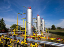Oil and gas industry Stock Image