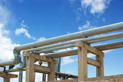 Oil and gas pipelines Stock Photography