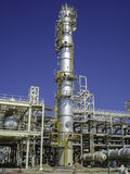 Oil & Gas plant construction Royalty Free Stock Images