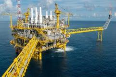Oil and gas platform or Construction platform Stock Photos