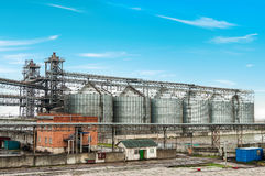 Oil and gas processing plant. Stock Images