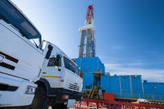 Oil and gas production Royalty Free Stock Photography