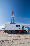 Oil and gas production Stock Image