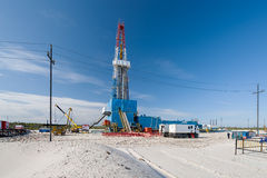 Oil and gas production Stock Images