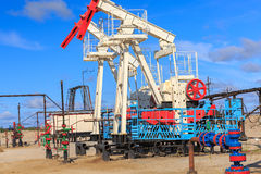Oil and gas production Stock Photography