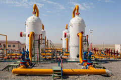 Oil and gas refinator compressor Stock Photo