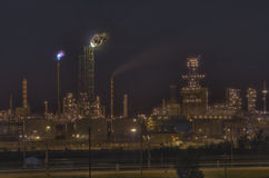 Oil and gas refinery. Stock Photo