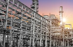 Oil and gas refinery industry zone, A equipment of oil refining factory
