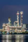 Oil and gas refinery petrochemical factory Royalty Free Stock Photography