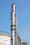 Oil and Gas Refinery Plant Royalty Free Stock Photos