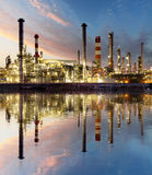 Oil and gas refinery, Power Industry Royalty Free Stock Image