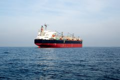 Oil and gas tanker ship royalty free stock photography
