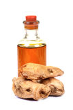 Oil and ginger Stock Image