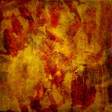 Oil glazes on canvas Royalty Free Stock Photo