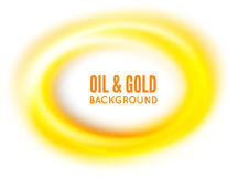 Oil or gold Royalty Free Stock Photography