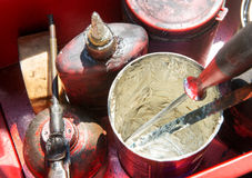 Oil and grease Royalty Free Stock Images