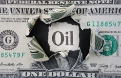 Oil headline Royalty Free Stock Photo