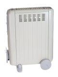 Oil heater stock photo