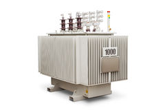Oil immersed transformer Royalty Free Stock Image