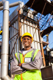 Oil industrial worker Stock Photography