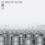Oil Industry Background Royalty Free Stock Photos