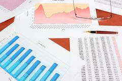 Oil industry business Royalty Free Stock Photography