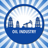 Oil industry stock illustration