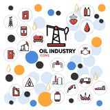 Oil Industry Concept Stock Image