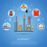 Oil industry Concept Stock Photos