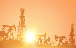 Oil industry. Royalty Free Stock Image