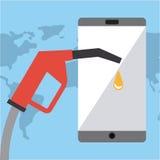 Oil industry design Stock Photos