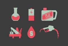 Oil industry design Stock Image