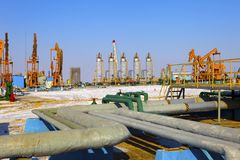 Oil industry equipment. Stock Photography