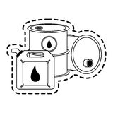 Oil industry icon image Royalty Free Stock Photo