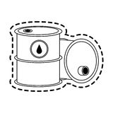 Oil industry icon image Royalty Free Stock Photos