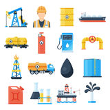 Oil industry icon Stock Photo