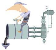 Oil industry illustration vector illustration