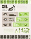 Oil Industry Infographic Template Stock Image