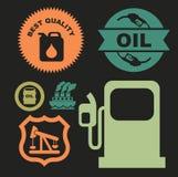 Oil industry. Over black background vector illustration vector illustration