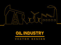 Oil industry Royalty Free Stock Photos