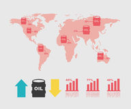 Oil industry Royalty Free Stock Images