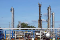 Oil industry petrochemical plant Stock Photo