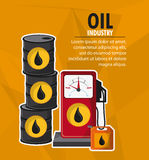Oil industry production petroleum icon Stock Photography