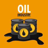 Oil industry production petroleum icon. Barrel drop oil industry production petroleum icon, vector illustration Royalty Free Stock Images