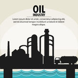 Oil industry production petroleum icon. Sea truck oil industry production petroleum icon, vector illustration Stock Photo
