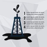 Oil industry production petroleum icon. Tower oil industry production petroleum icon, Vector illustration vector illustration