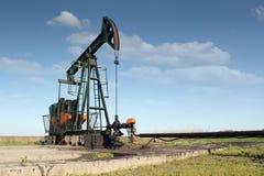 Oil industry pumpjack Royalty Free Stock Image