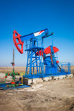 Oil industry pumpjack Royalty Free Stock Photography